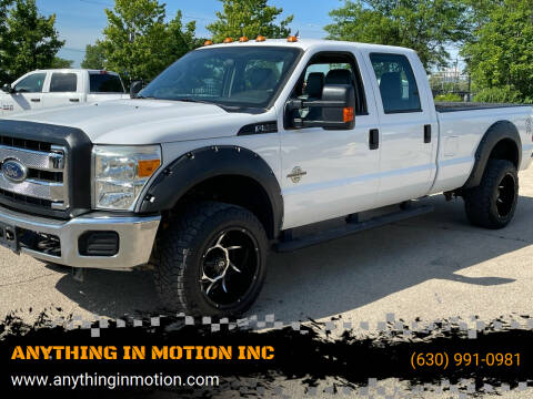 2013 Ford F-350 Super Duty for sale at ANYTHING IN MOTION INC in Bolingbrook IL