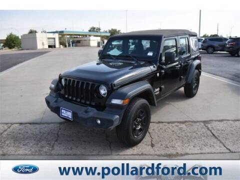 2018 Jeep Wrangler Unlimited for sale at South Plains Autoplex by RANDY BUCHANAN in Lubbock TX