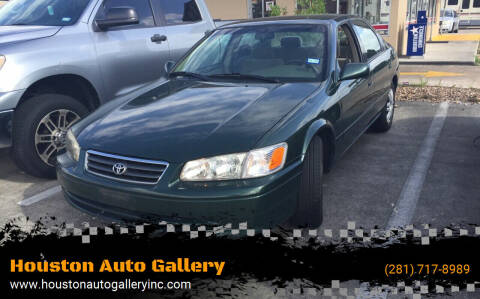2000 Toyota Camry for sale at Houston Auto Gallery in Katy TX