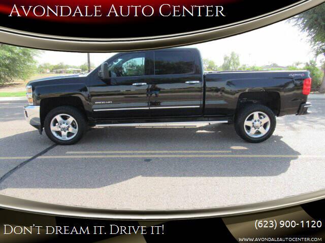 2015 Chevrolet Silverado 2500HD for sale at Avondale Auto Center in Avondale AZ