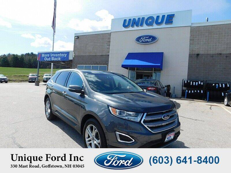 2017 Ford Edge for sale at Unique Motors of Chicopee - Unique Ford in Goffstown NH
