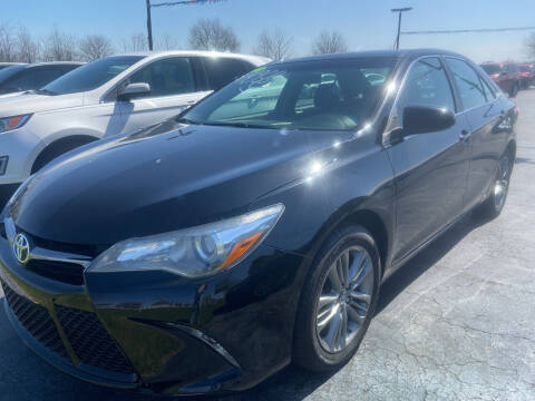 2016 Toyota Camry for sale at EAGLE ONE AUTO SALES in Leesburg OH