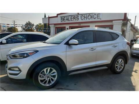 2018 Hyundai Tucson for sale at Dealers Choice Inc in Farmersville CA