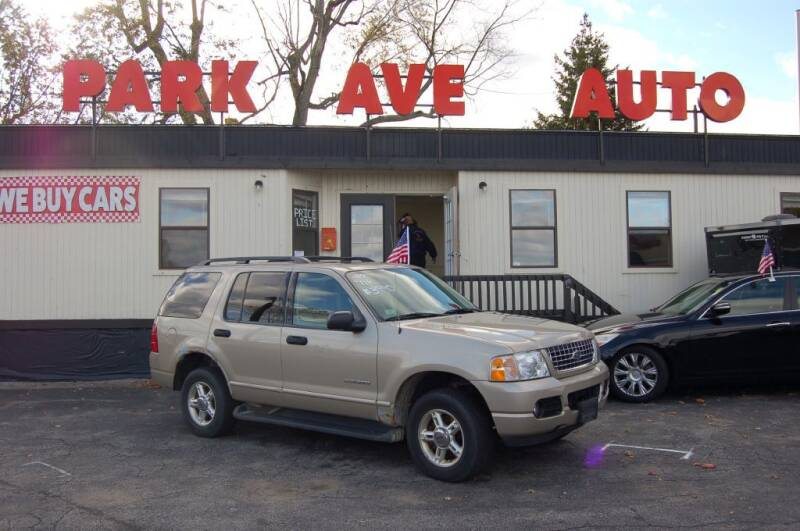 2004 Ford Explorer for sale at Park Ave Auto Inc. in Worcester MA