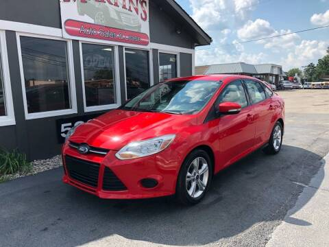 2014 Ford Focus for sale at Martins Auto Sales in Shelbyville KY