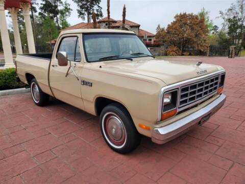 1984 Dodge D100 Pickup for sale at Haggle Me Classics in Hobart IN