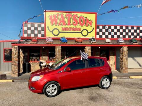 2011 Chevrolet Aveo for sale at Watson Motors in Poteau OK