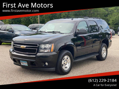 2010 Chevrolet Tahoe for sale at First Ave Motors in Shakopee MN