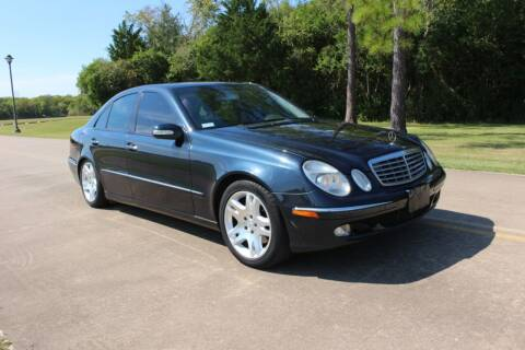 2003 Mercedes-Benz E-Class for sale at Clear Lake Auto World in League City TX
