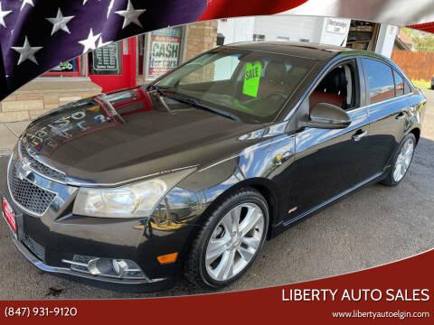 2011 Chevrolet Cruze for sale at Liberty Auto Sales in Elgin IL