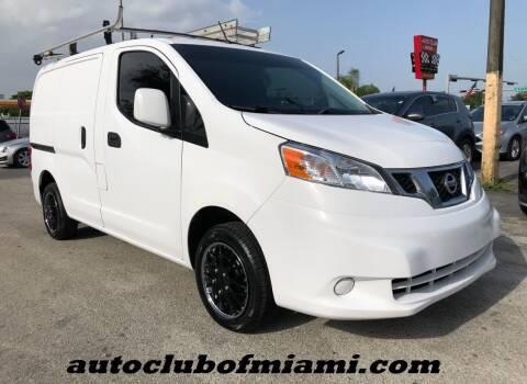 2017 Nissan NV200 for sale at AUTO CLUB OF MIAMI, INC in Miami FL