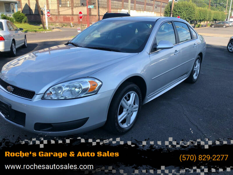 2012 Chevrolet Impala for sale at Roche's Garage & Auto Sales in Wilkes-Barre PA