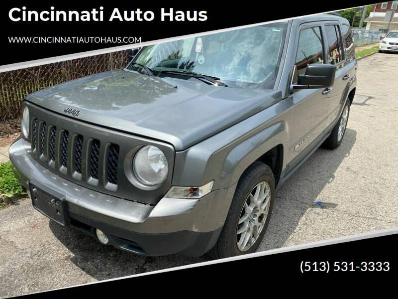 2014 Jeep Patriot for sale at Cincinnati Auto Haus in Cincinnati OH