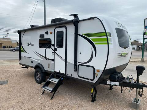 2021 Forest River  EPRO 20BHS for sale at ROGERS RV in Burnet TX