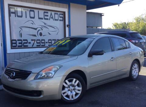 2009 Nissan Altima for sale at AUTO LEADS in Pasadena TX