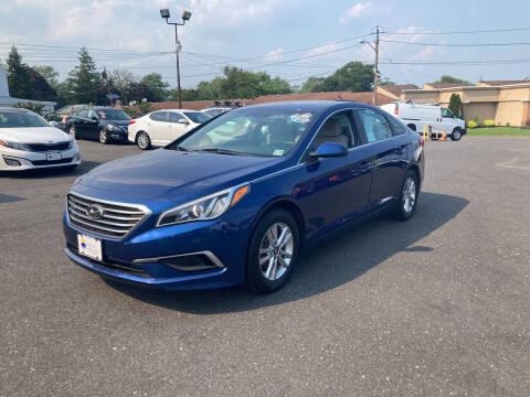 2017 Hyundai Sonata for sale at Majestic Automotive Group in Cinnaminson NJ