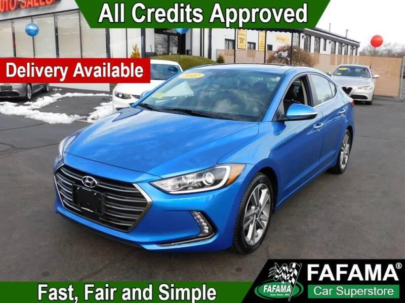 2017 Hyundai Elantra for sale at FAFAMA AUTO SALES Inc in Milford MA