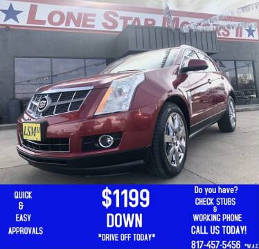 2012 Cadillac SRX for sale at LONE STAR MOTORS II in Fort Worth TX