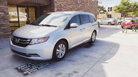 2015 Honda Odyssey for sale at Masi Auto Sales in San Diego CA
