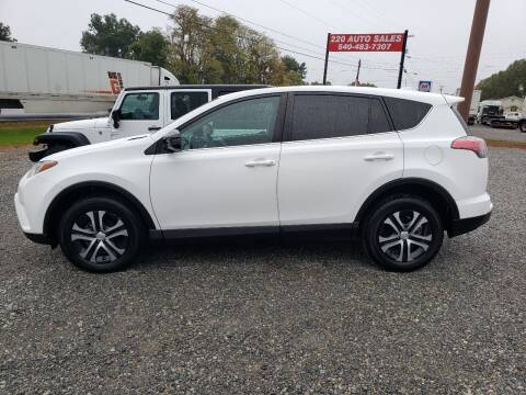 2017 Toyota RAV4 for sale at 220 Auto Sales in Rocky Mount VA