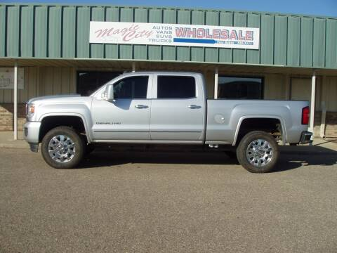 2015 GMC Sierra 2500HD for sale at Magic City Wholesale in Minot ND