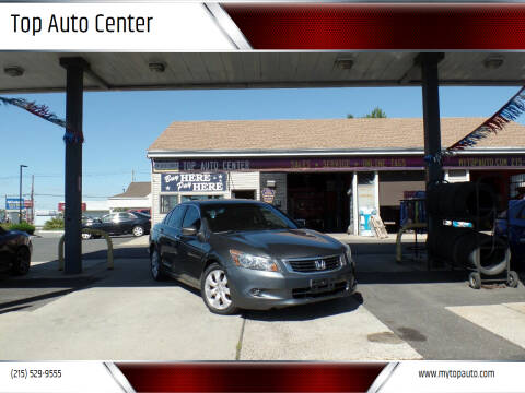 2008 Honda Accord for sale at Top Auto Center in Quakertown PA
