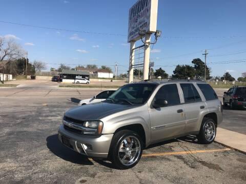 2002 Chevrolet TrailBlazer for sale at Patriot Auto Sales in Lawton OK