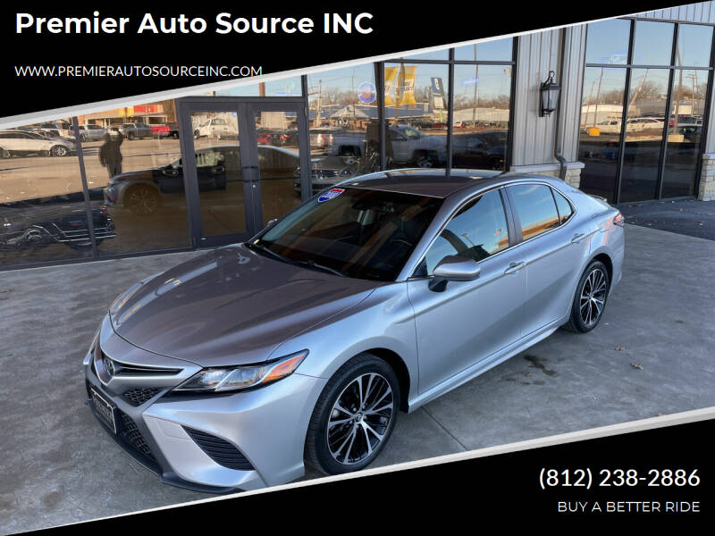 2018 Toyota Camry for sale at Premier Auto Source INC in Terre Haute IN