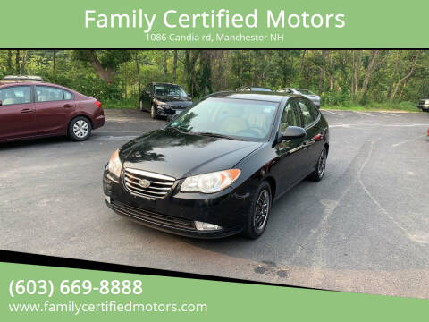 2010 Hyundai Elantra for sale at Family Certified Motors in Manchester NH