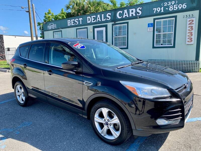 2013 Ford Escape for sale at Best Deals Cars Inc in Fort Myers FL