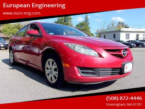 2009 Mazda MAZDA6 for sale at European Engineering in Framingham MA