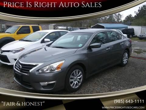 2015 Nissan Altima for sale at Price Is Right Auto Sales in Slidell LA