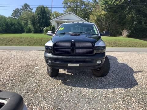 2003 Dodge Ram Pickup 3500 for sale at Moose Motors in Morganton NC