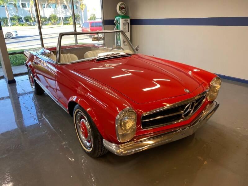 1963 Mercedes-Benz 230SL Roadster for sale at Gallery Junction in Orange CA