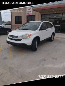 2007 Honda CR-V for sale at TEXAS AUTOMOBILE in Houston TX
