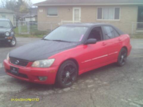 2004 Lexus IS 300 for sale at Flag Motors in Columbus OH