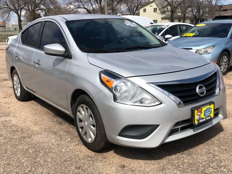 2018 Nissan Versa for sale at El Tucanazo Auto Sales in Grand Island NE