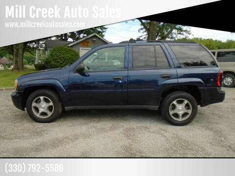 2008 Chevrolet TrailBlazer for sale at Mill Creek Auto Sales in Youngstown OH