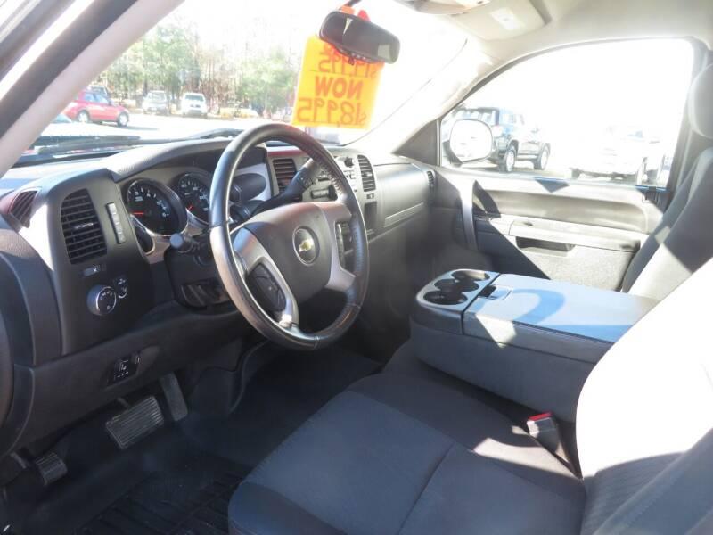 2013 Chevrolet Silverado 1500 4x4 LT 4dr Extended Cab 6.5 ft. SB - Concord NH