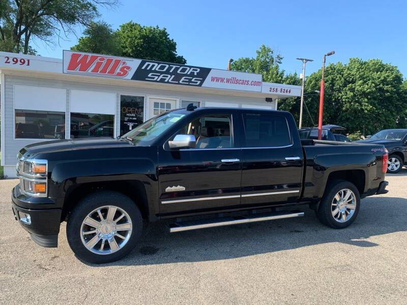 2015 Chevrolet Silverado 1500 for sale at Will's Motor Sales in Grandville MI