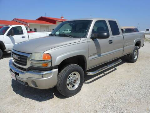 2005 GMC Sierra 2500HD for sale at JUDD MOTORS INC in Lancaster MO