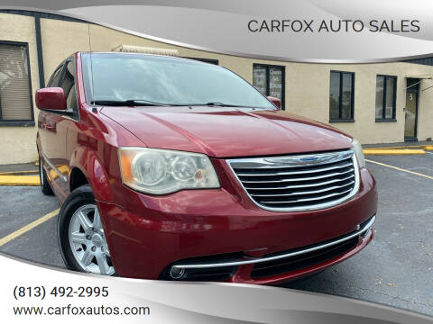 2012 Chrysler Town and Country for sale at Carfox Auto Sales in Tampa FL