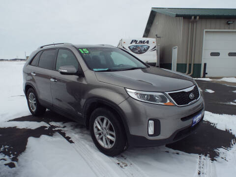 2015 Kia Sorento for sale at G & K Supreme in Canton SD