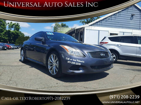 2008 Infiniti G37 for sale at Universal Auto Sales Inc in Salem OR