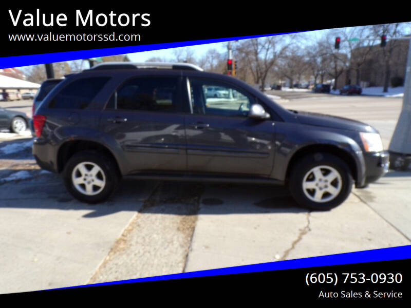 2007 Pontiac Torrent for sale at Value Motors in Watertown SD