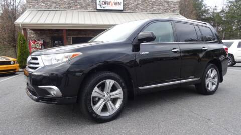 2013 Toyota Highlander for sale at Driven Pre-Owned in Lenoir NC