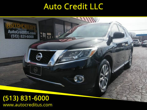 2015 Nissan Pathfinder for sale at Auto Credit LLC in Milford OH