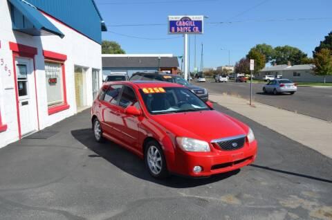 2006 Kia Spectra for sale at CARGILL U DRIVE USED CARS in Twin Falls ID