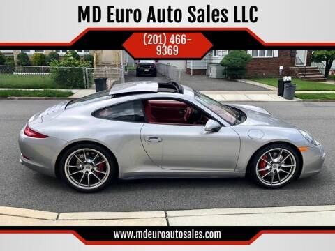2013 Porsche 911 for sale at MD Euro Auto Sales LLC in Hasbrouck Heights NJ