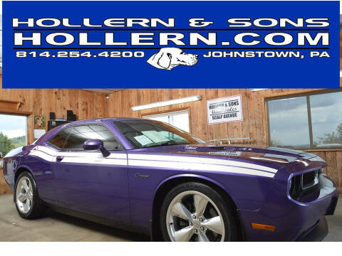2014 Dodge Challenger for sale at Hollern & Sons Auto Sales in Johnstown PA
